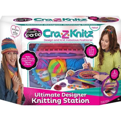 Studio de Crosetat Ultimate Designer Cra-Z-Knitz, Cra-Z-Art