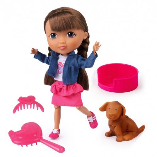 Papusa Interactiva Lisa - Iubitoarea de Animale, Bayer