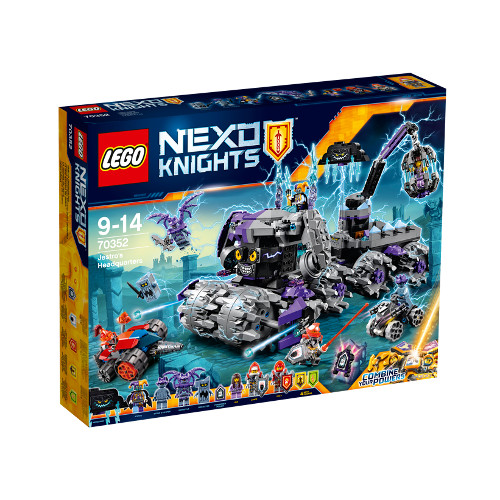 LEGO NEXO KNIGHTS Sediul Central al lui Jestro 70352, LEGO
