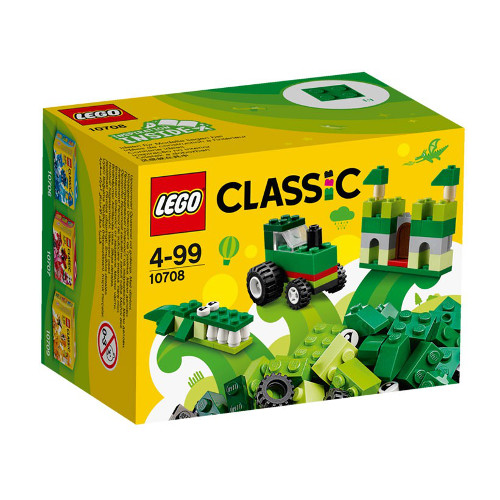 LEGO Classic Cutie Verde de Creativitate 10708, LEGO