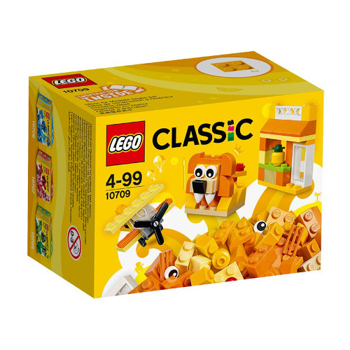 LEGO Classic Cutie Portocalie de Creativitate 10709, LEGO