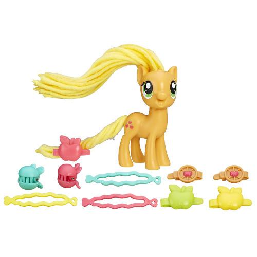 Figurina My Little Pony Coafuri de Gala - Applejack, Hasbro