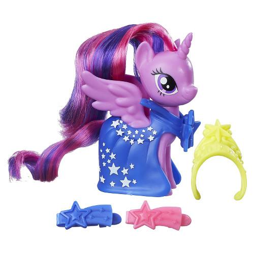 Figurina My Little Pony cu Accesorii de Gala Twilight Sparkle, Hasbro