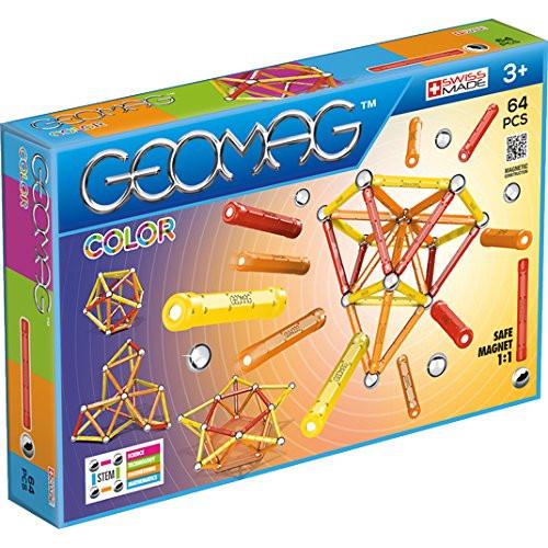 Set Constructie Magnetic Color 64, Geomag