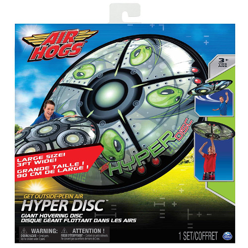 Disc Gonflabil Zburator Air Hogs Hyper Disc UFO, Spin Master