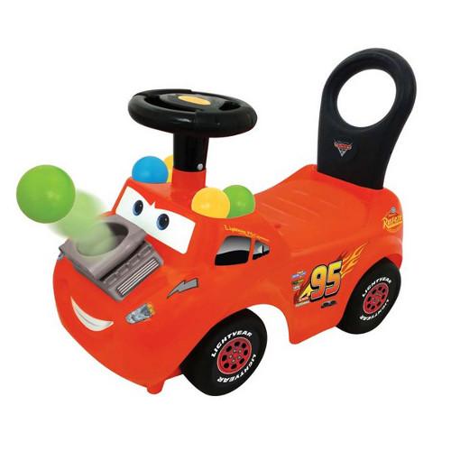 Trenulet Ride On Pick N Pop Lightning McQueen, Kiddieland
