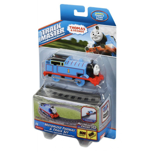 Set Locomotiva Motorizata cu Sine Thomas and Friends, Mattel