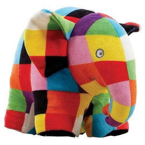 Jucarie din Plus Elmer 17 cm, Rainbow Design