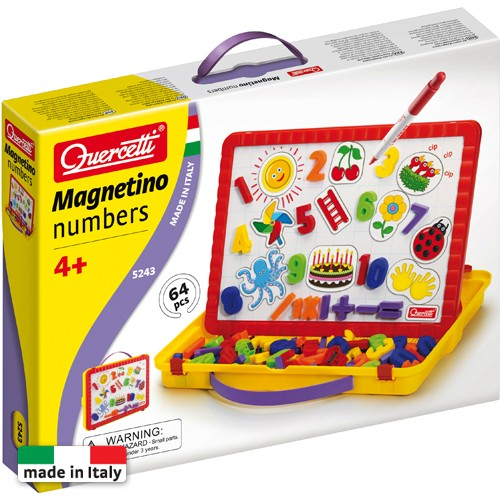 Magnetino Numbers - Set Cifre Magnetice, Quercetti