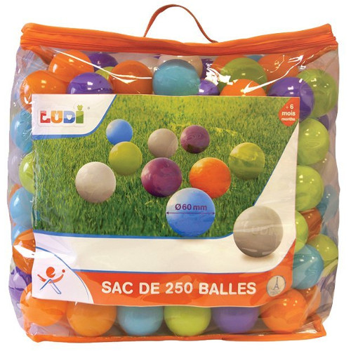 Set 250 de Bile Multicolore, Ludi