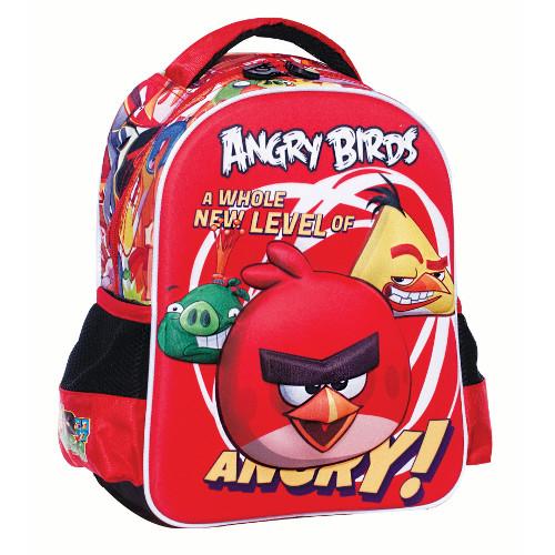 Ghiozdan Gradinita Angry Birds 3D, Giovas