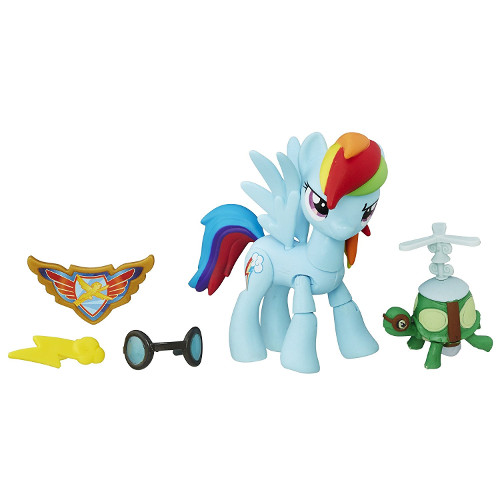 Figurina My Little Pony Gardienii Armoniei - Rainbow Dash, Hasbro