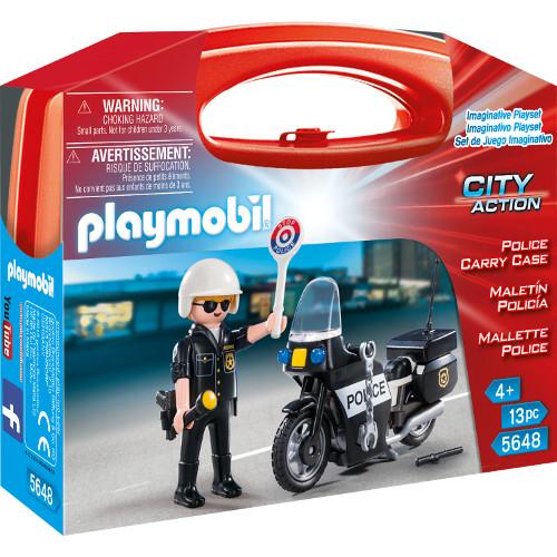 Set Portabil - Politie, Playmobil