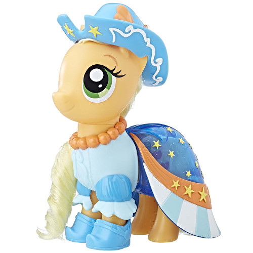 Set My Little Pony The Movie - Figurina Applejack cu Accesorii, Hasbro