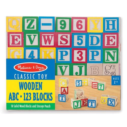 Cuburi Litere si Numere 50, Melissa & Doug