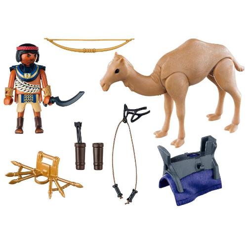 Romans and Egyptians - Razboinic Egiptean Cu Camila, Playmobil