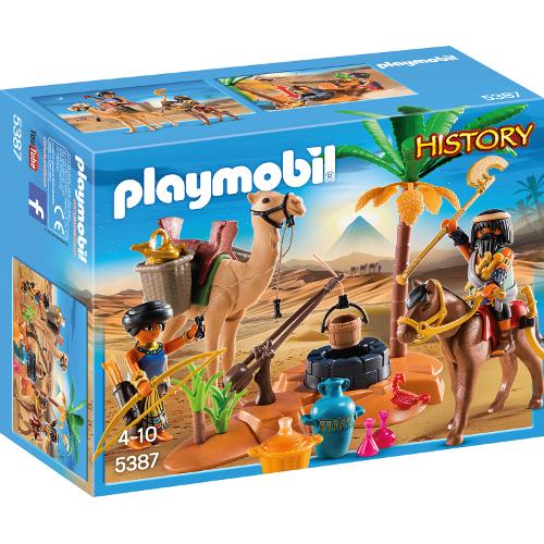 Romans and Egyptians - Tabara Vanatorilor de Comori Egipteni, Playmobil