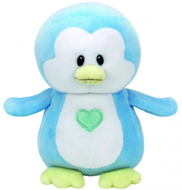 Plus Pinguinul Bleu Twinkles 15 cm , Ty