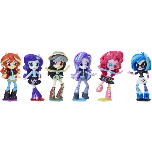 Set My Little Pony Equestria Girls Minis Movie Collection, Hasbro