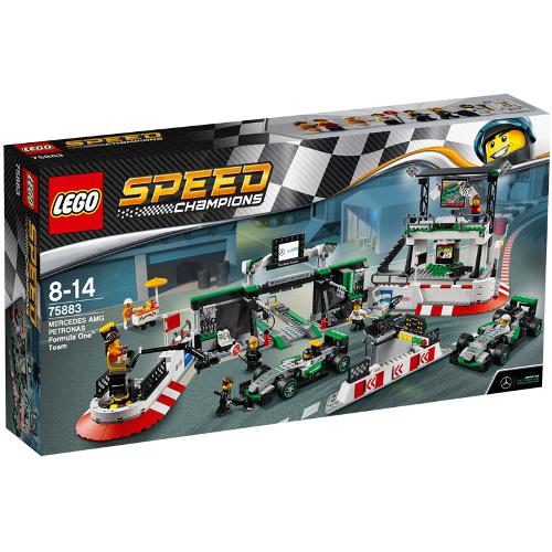 LEGO Speed Champions Mercedes AMG Petronas Formula One Team 75883, LEGO
