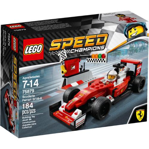 LEGO Speed Champions Scuderia Ferrari SF16-H, 75879, LEGO