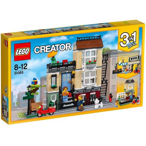 LEGO Creator Casa de pe Strada Parcului, LEGO