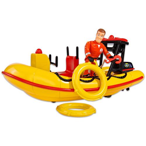 Barca cu Motor Neptune cu Figurina Pompierul Sam, Simba