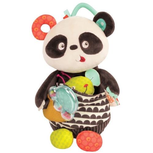 Jucarie Plus Panda cu Activitati, B.Toys