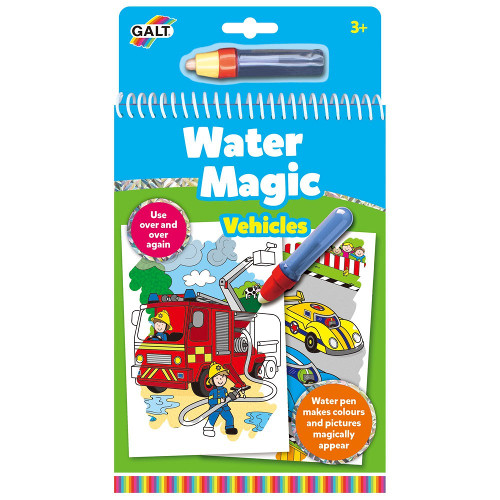 Carte de Colorat Water Magic Vehicule, Galt