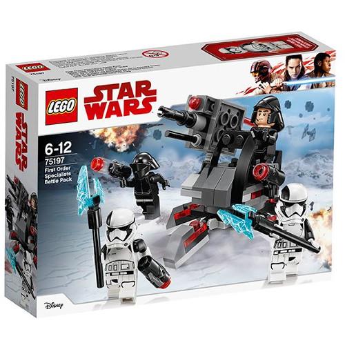LEGO Star Wars Pachetul de lupta al Specialistilor Ordinului Intai 75197, LEGO