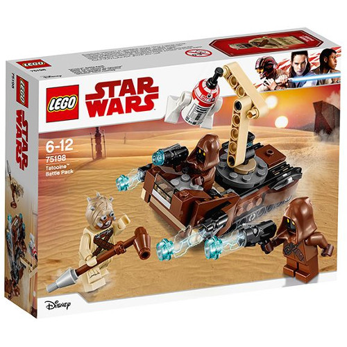 LEGO Star Wars Pachetul de Lupta Tatooine 75198, LEGO