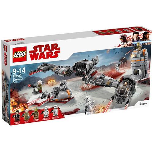 LEGO Star Wars Apararea Planetei Crait 75202, LEGO
