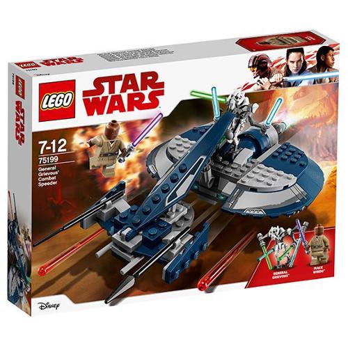 LEGO Star Wars Speeder-ul de Lupta al Generalului Grievous 75199, LEGO