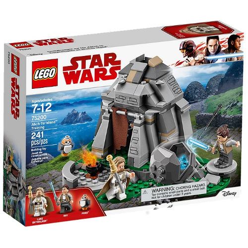 LEGO Star Wars Antrenamentul de pe Ahch-To Island, 75200, LEGO
