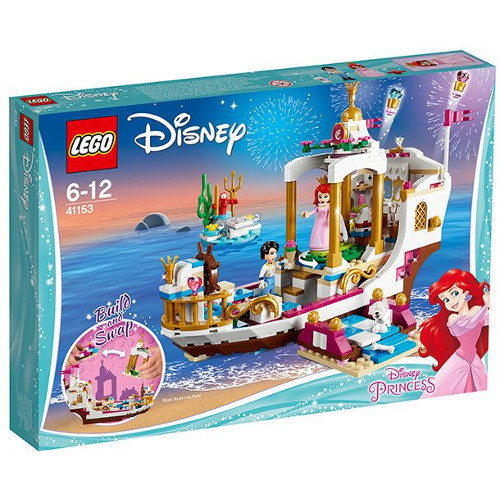 LEGO Disney Ambarcatiunea Regala a lui Ariel 41153, LEGO