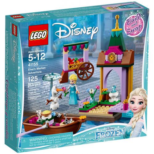 LEGO Disney Aventura Elsei la Piata 41155, LEGO