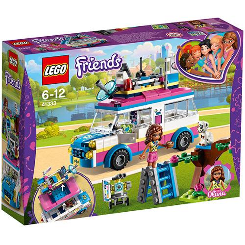 LEGO Friends Vehiculul de Misiune al Oliviei 41333, LEGO