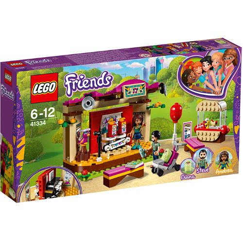 LEGO Friends Spectacolul din Parc al Andreei 41334, LEGO