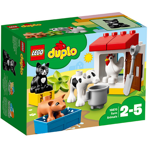 LEGO DUPLO Animalele de la Ferma 10870, LEGO