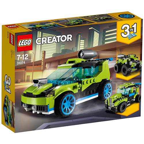 LEGO Creator Masina de Raliuri Rocket 31074, LEGO