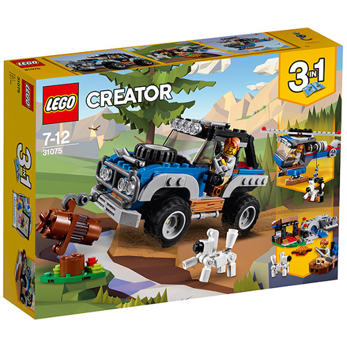 LEGO Creator Masina de Aventuri 31075, LEGO