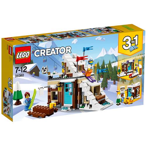 LEGO Creator Vacanta de Iarna Modulara 31080, LEGO