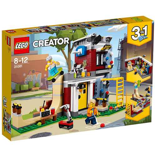 LEGO Creator Skatepark Modular 31081, LEGO