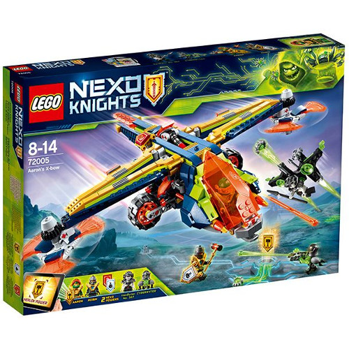LEGO NEXO KNIGHTS X-Arcul lui Aaron 72005, LEGO