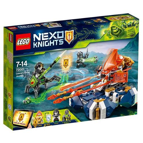 LEGO NEXO KNIGHTS Motocicleta Planor a lui Lance 72001, LEGO