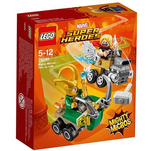 LEGO Super Heroes Mighty Micros Star Thor Contra Loki 76091, LEGO