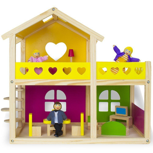 Casa cu Papusi Mobilata, Tooky Toy