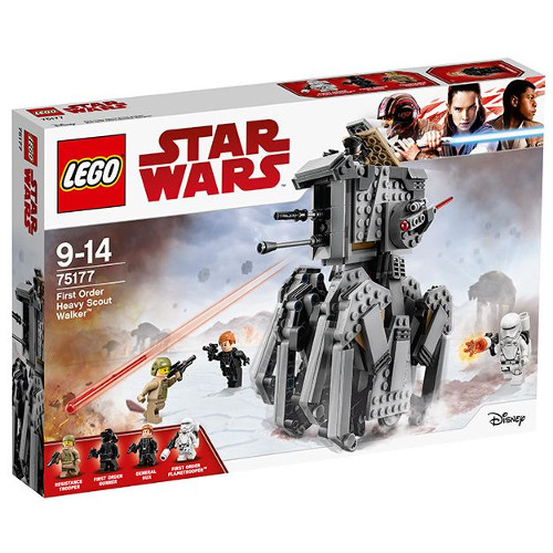 LEGO Star Wars Heavy Scout Walker al Ordinului Intai 75177, LEGO