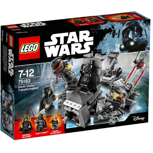 LEGO Star Wars Transformarea Darth Vader 75183, LEGO
