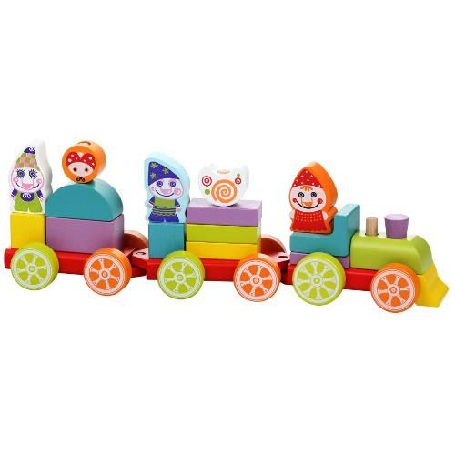 Set Constructii Trenuletul Prieteniei, Cubika